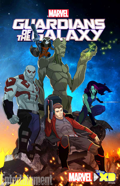 Стражи Галактики: Истоки  / Marvel's Guardians of the Galaxy: Origins с 0 по 2 сезон (2015) WEB-DLRip