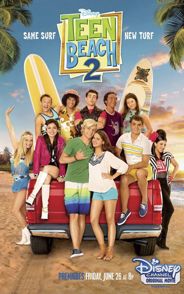 Лето. Пляж. Кино 2 / Teen Beach 2 (2015) WEB-DLRip