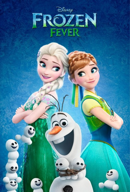 Холодное торжество / Frozen Fever (2015) BDRip