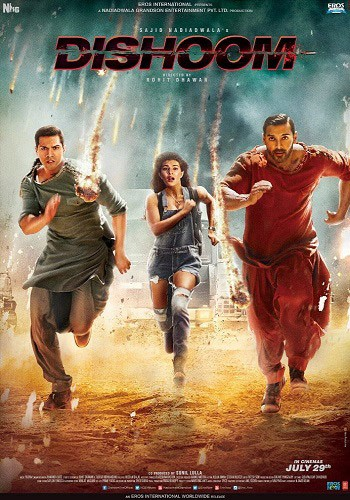 Выстрел / Dishoom (2016) BDRip
