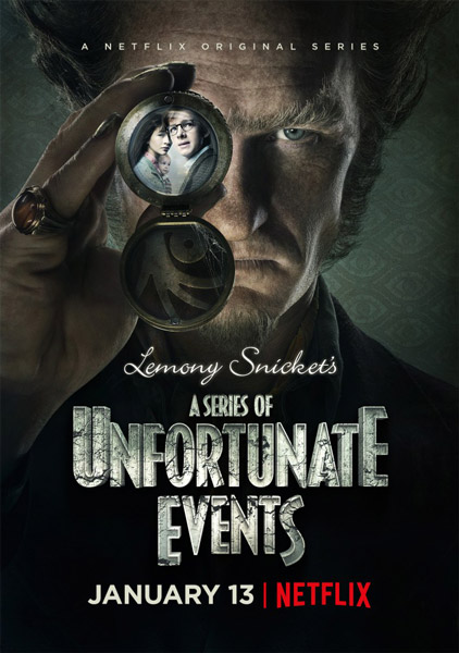 Лемони Сникет: 33 несчастья  / A Series of Unfortunate Events с 1 по 3 сезон (2017-2019) WEBRip
