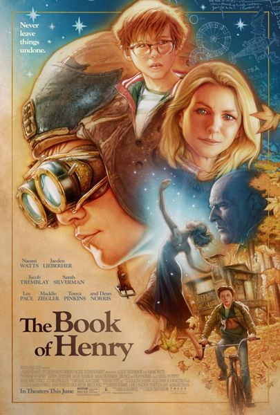 Книга Генри / The Book of Henry (2017) WEB-DLRip