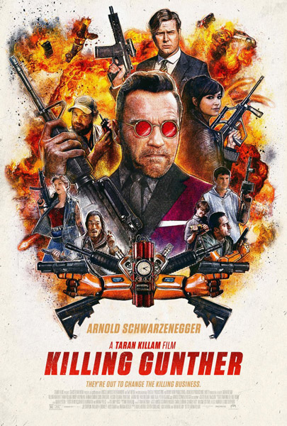 Убить Гюнтера / Killing Gunther (2017) WEB-DLRip