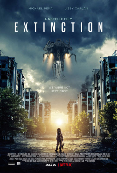 Закат цивилизации / Extinction (2018) WEB-DLRip | HDrezka Studio
