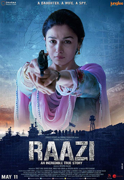 Заговор / Raazi (2018) WEB-DLRip
