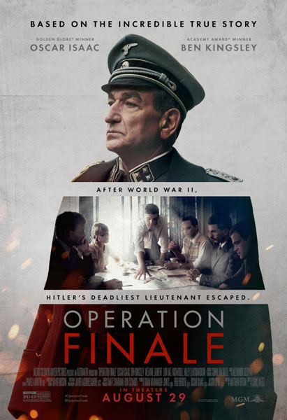 Операция «Финал» / Operation Finale (2018) WEB-DLRip