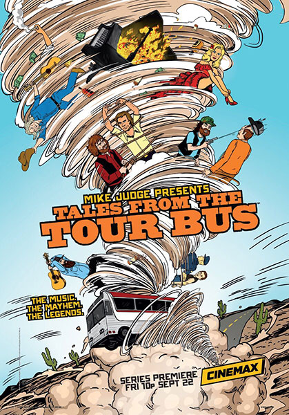 Байки из турне / Mike Judge Presents: Tales From the Tour Bus с 1 по 2 сезон (2017-2018) WEB-DLRip