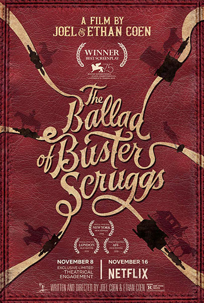 Баллада Бастера Скраггса / The Ballad of Buster Scruggs (2018) WEB-DLRip | АРК-ТВ