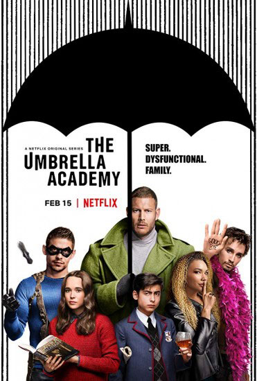 Академия «Амбрелла» / The Umbrella Academy 1 сезон (2019) WEB-DLRip