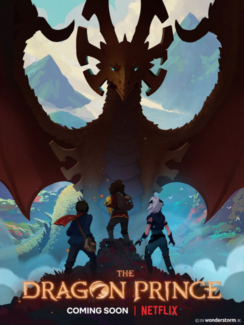 Принц-дракон / The Dragon Prince с 1 по 2 сезон (2018-2019) WEB-DLRip