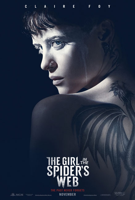Девушка, которая застряла в паутине / The Girl in the Spider's Web (2018) BDRip | iTunes