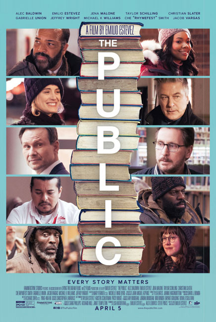 Общественная библиотека / The Public (2018) BDRip | HDrezka Studio
