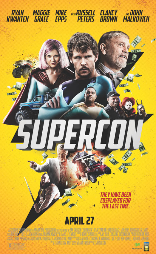 Супермошенники / Supercon (2018) WEB-DLRip | HDrezka Studio