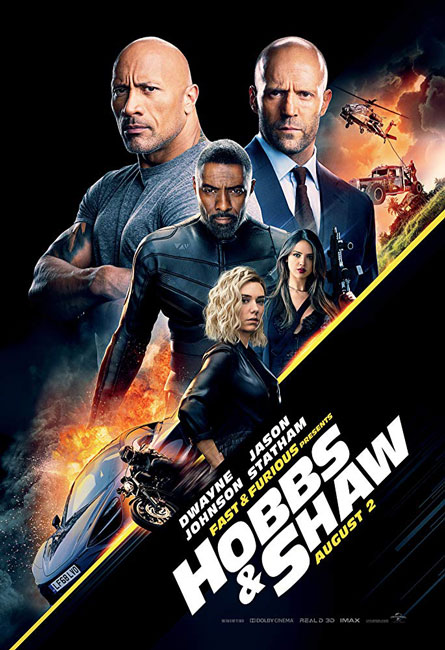 Форсаж: Хоббс и Шоу / Fast & Furious Presents: Hobbs & Shaw (2019) HDTVRip