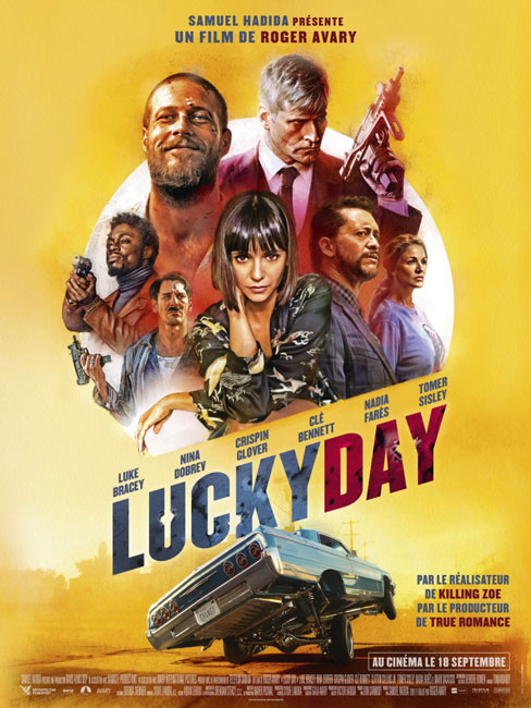 Киллер по вызову / Lucky Day (2019) WEB-DLRip