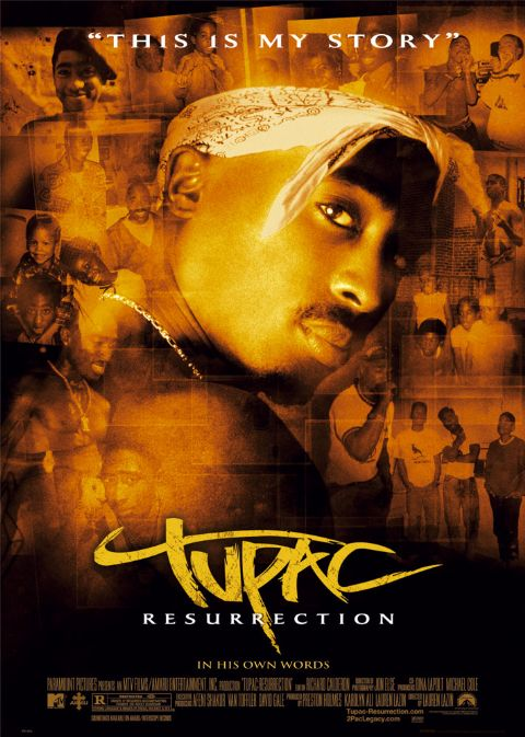 review of the documentary tupac resurrection Nothing begets a legend quite like an early, dramatic death rapper tupac shakur was well on his way to artistic immortality when he was gunned down in.