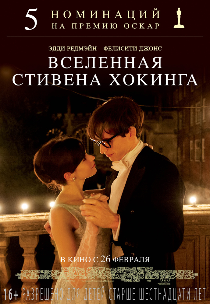 Вселенная Стивена Хокинга / The Theory of Everything (2015) BDRip